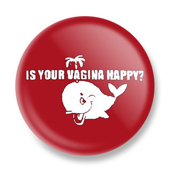 kapsel IS YOUR VAGINA HAPPY? Ø25mm