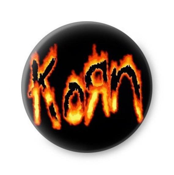 kapsel KORN - FLAMING LOGO