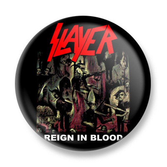kapsel SLAYER - REIGN IN BLOOD