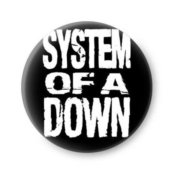 kapsel SYSTEM OF A DOWN - LOGO