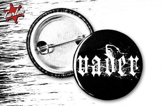 kapsel VADER - LOGO biało-czarny