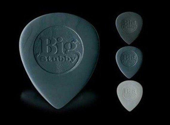 kostka gitarowa DUNLOP - NYLON BIG STUBBY 3mm (dr.grey) 445R3.0
