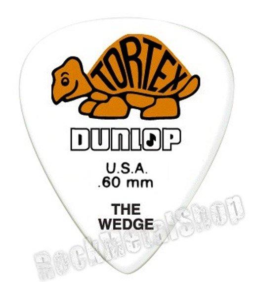 kostka gitarowa DUNLOP - TORTEX THE WEDGE ORANGE 0.60 mm (424R0.60)