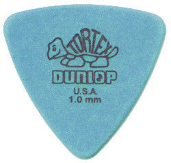 kostka gitarowa DUNLOP TORTEX TRIANGLE (blue) 1.0mm (431R1.00)
