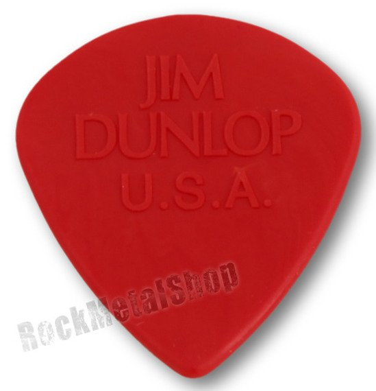 kostka gitarowa JIM DUNLOP - ERIC JOHNSON JAZZ III RED (47PEJ3N)