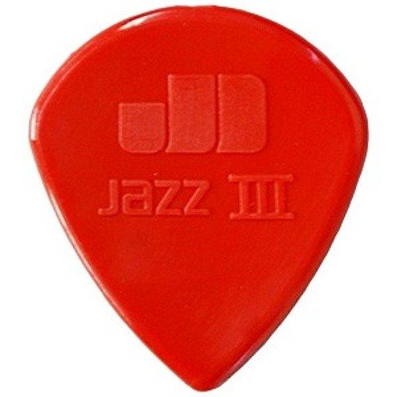 kostka gitarowa JIM DUNLOP - NYLON JAZZ III XL / 1.38 RED (47RXLN)