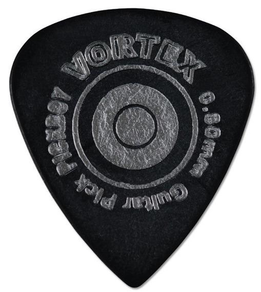 kostka gitarowa PICKBOY VORTEX BLACK 0,80mm