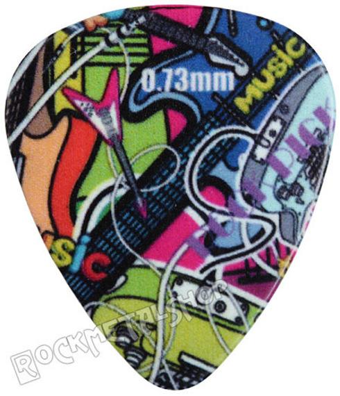 kostka gitarowa ROCK PICK - GUITARS