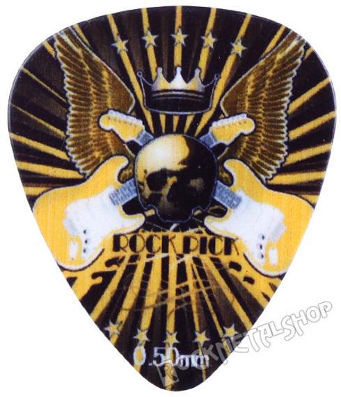 kostka gitarowa ROCK PICK - KING OF ROCK