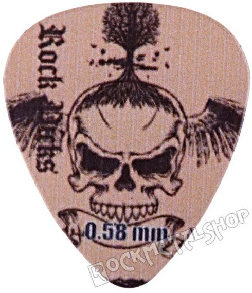 kostka gitarowa ROCK PICK - SKULL TREE