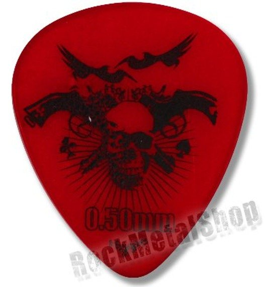 kostka gitarowa ROCK PICK / SKULL'N'GUNS