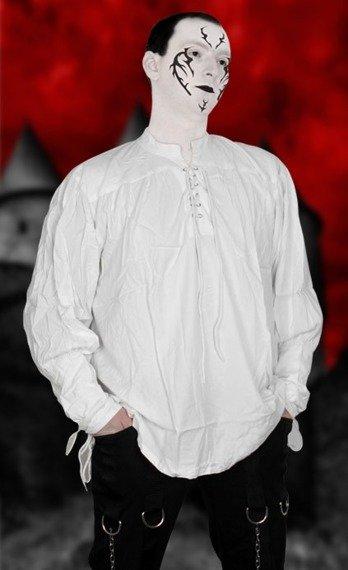 koszula GOTYCKA biała (56305)