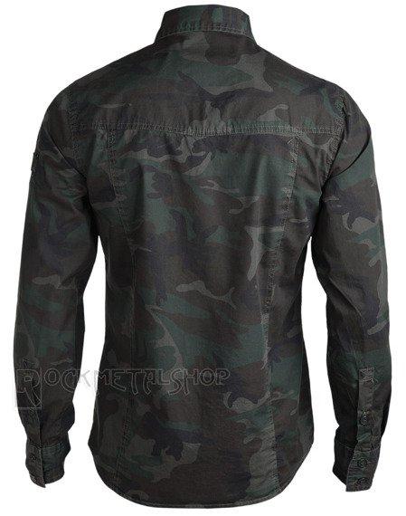 koszula MEN SHIRT SLIM - WOODLAND
