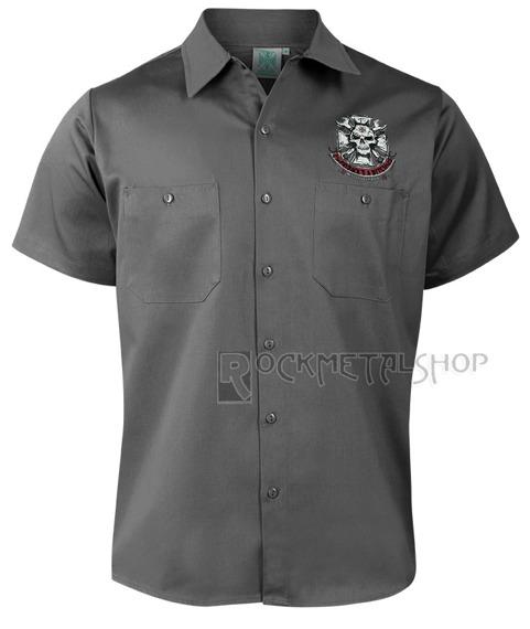 koszula WEST COAST CHOPPERS - MECHANIC GREY
