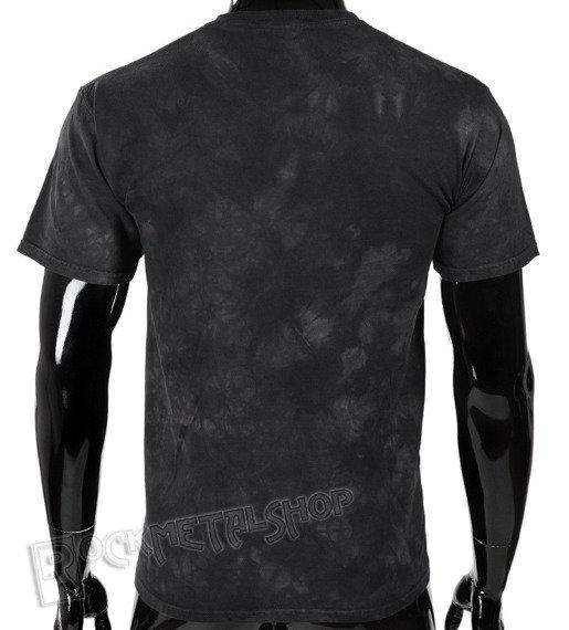 koszulka AC/DC - BACK IN BLACK, barwiona