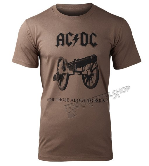 koszulka AC/DC - FOR THOSE ABOUT TO ROCK