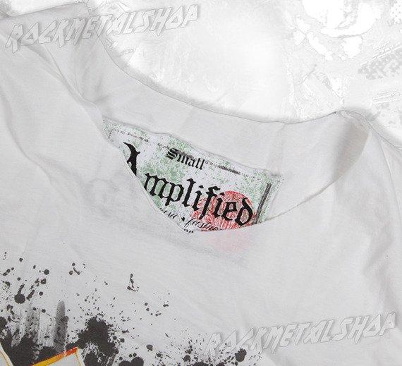 koszulka AC/DC - GRAFFITI LOGO biała