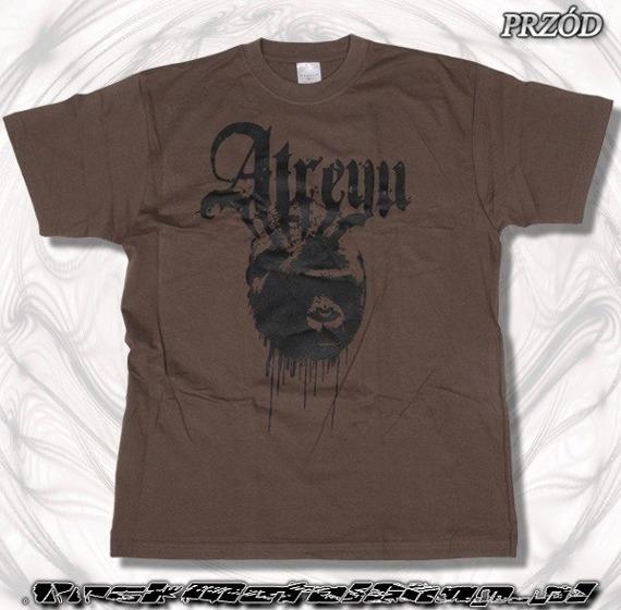 koszulka ATREYU czekoladowa