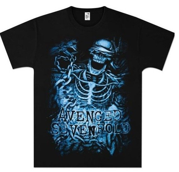 koszulka AVENGED SEVENFOLD - CHAINED SKELETON