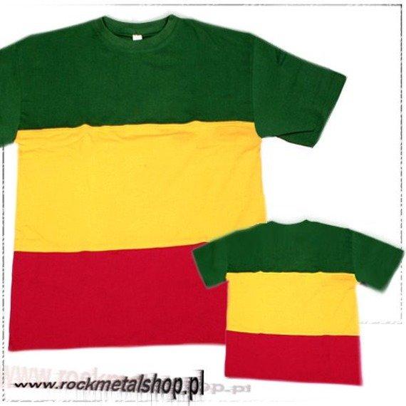 koszulka BARWY RASTA