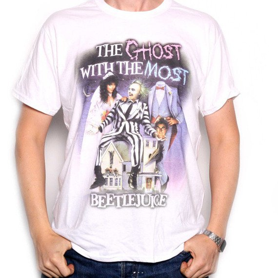 koszulka BEETLEJUICE - THE GHOST WITH THE MOST