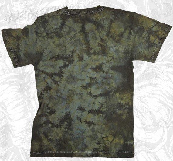 koszulka BLACK ICON - FEAR barwiona (MICON032BRW)