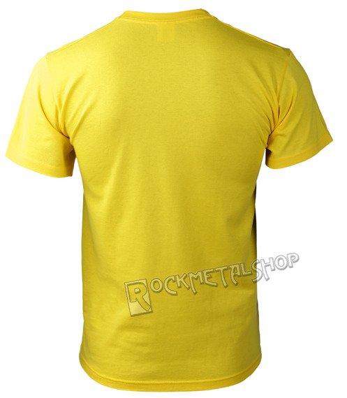 koszulka BLACK ICON - PIRANHA ATTACK żółta (MICON057 YELLOW)