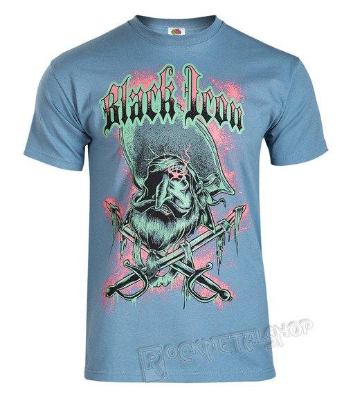 koszulka BLACK ICON - PIRATE (MICON098 SKY BLUE)