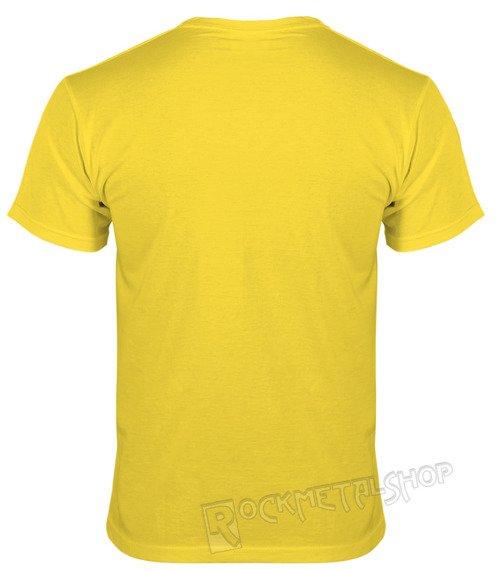 koszulka BLACK ICON - SEX, DRUGS żółta (MICON102)