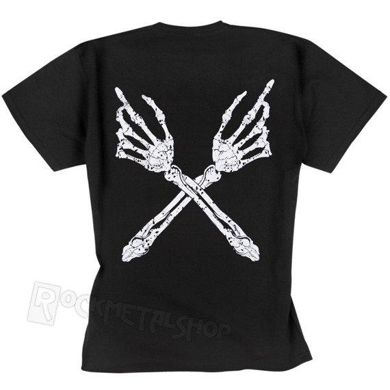 koszulka BLACK ICON - SKELETON HANDS (MICON128 BLACK)