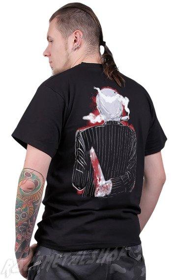 koszulka BLACK ICON - THE KNIFE MAN (MICON023 BLACK)