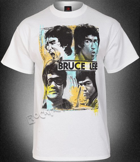 koszulka BRUCE LEE -  FACES