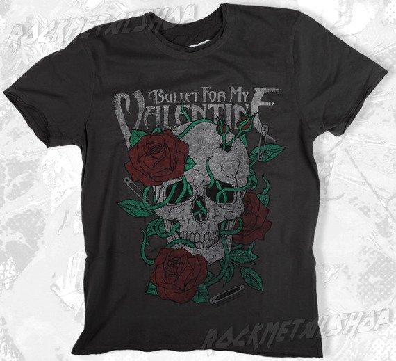 koszulka BULLET FOR MY VALENTINE szara