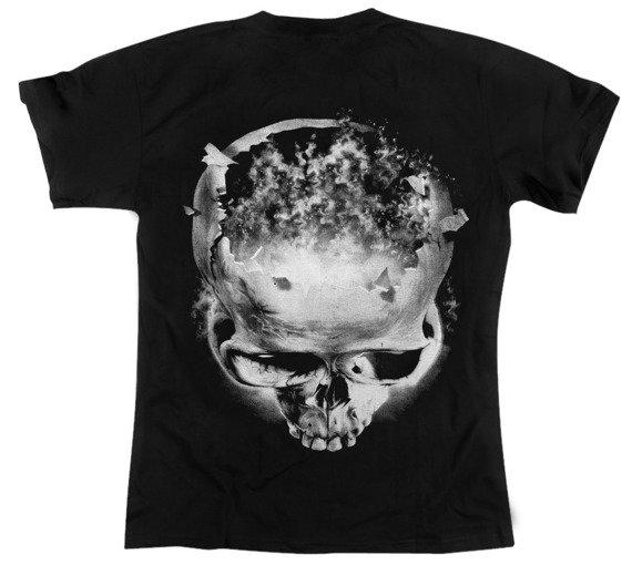 koszulka BURNING SKULL