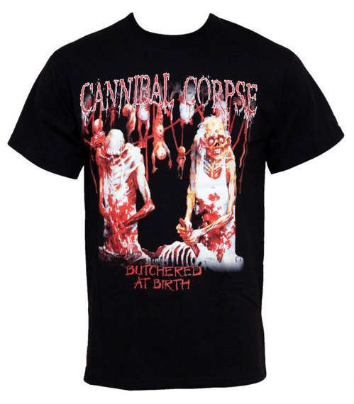 koszulka CANNIBAL CORPSE - BUTCHERED AT BIRTH