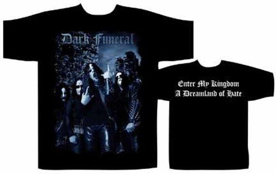 koszulka  DARK FUNERAL- ENTER MY KINGDOM