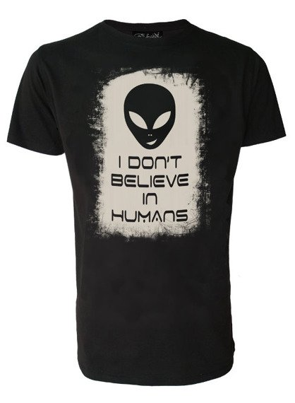 koszulka DARKSIDE - ALIEN DON'T BELIEVE IN HUMANS
