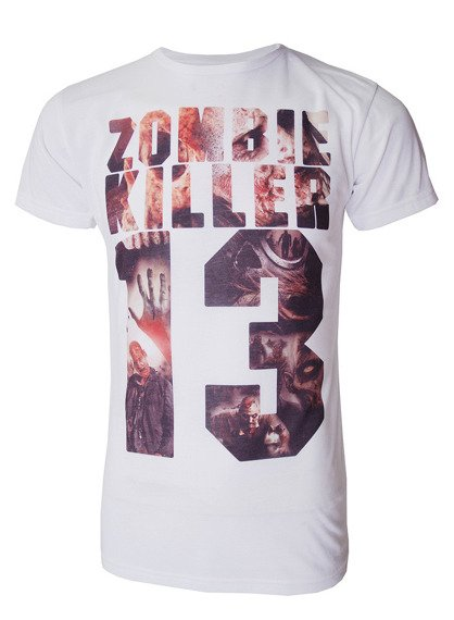 koszulka DARKSIDE - ZOMBIE INFILL biała