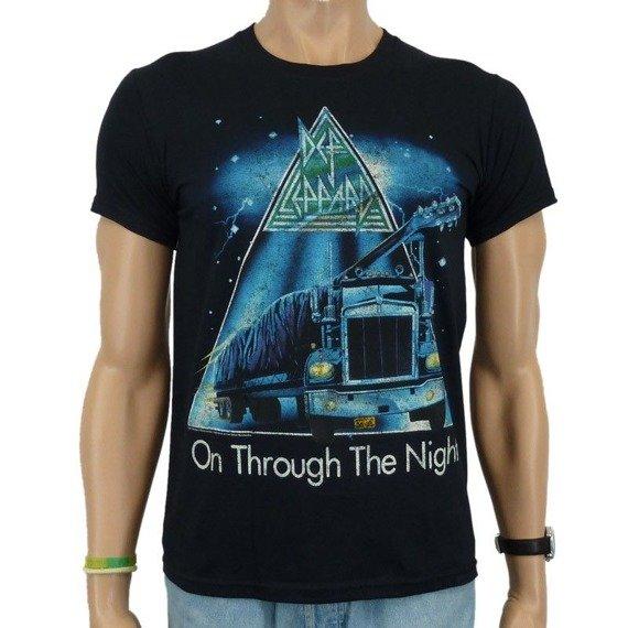 koszulka DEF LEPPARD - THROUGH THE NIGHT