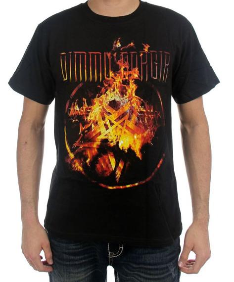 koszulka DIMMU BORGIR - FLAMES PENTAGRAM
