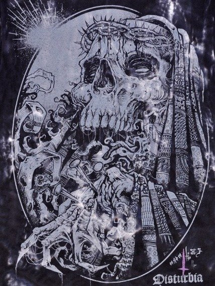 koszulka DISTURBIA - CROWN OF THORNS barwiona