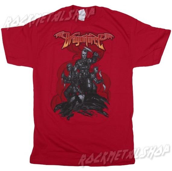 koszulka DRAGONFORCE - BATTLE RED