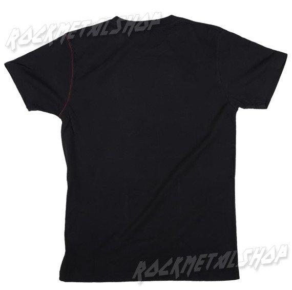 koszulka ELVIS - RED FLOCKED