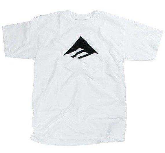 koszulka EMERICA - TRIANGLE (WHITE) 10'