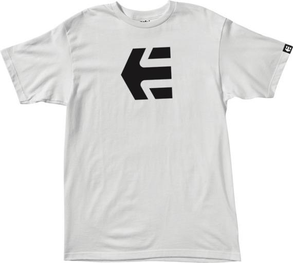 koszulka ETNIES - ICON MNS (WHITE) 09'