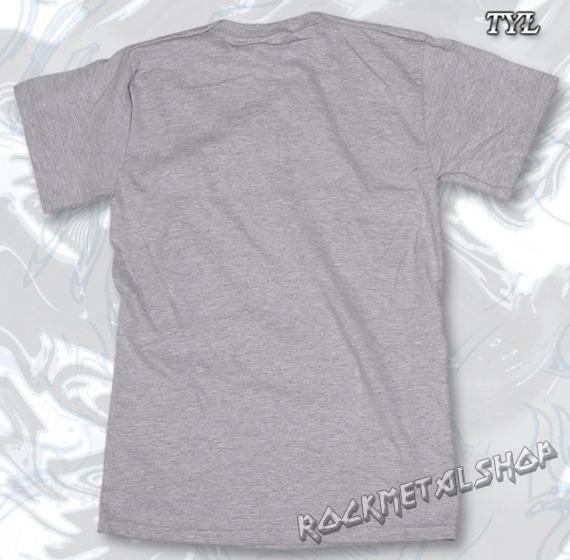 koszulka FENDER - CUSTOM SHOP szary melanż