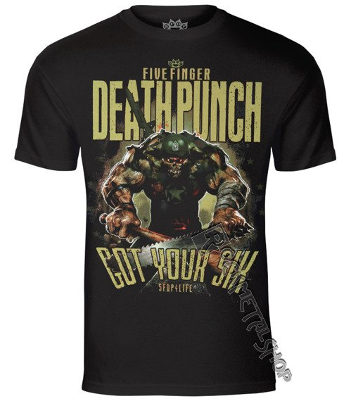 koszulka FIVE FINGER DEATH PUNCH - SGT MAJOR