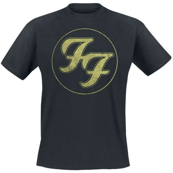 koszulka FOO FIGHTERS - LOGO IN GOLD