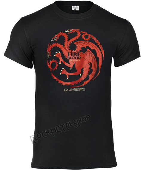 koszulka GAME OF THRONES - FIRE AND BLOOD