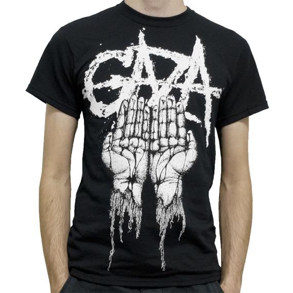 koszulka GAZA - BLACK HANDS